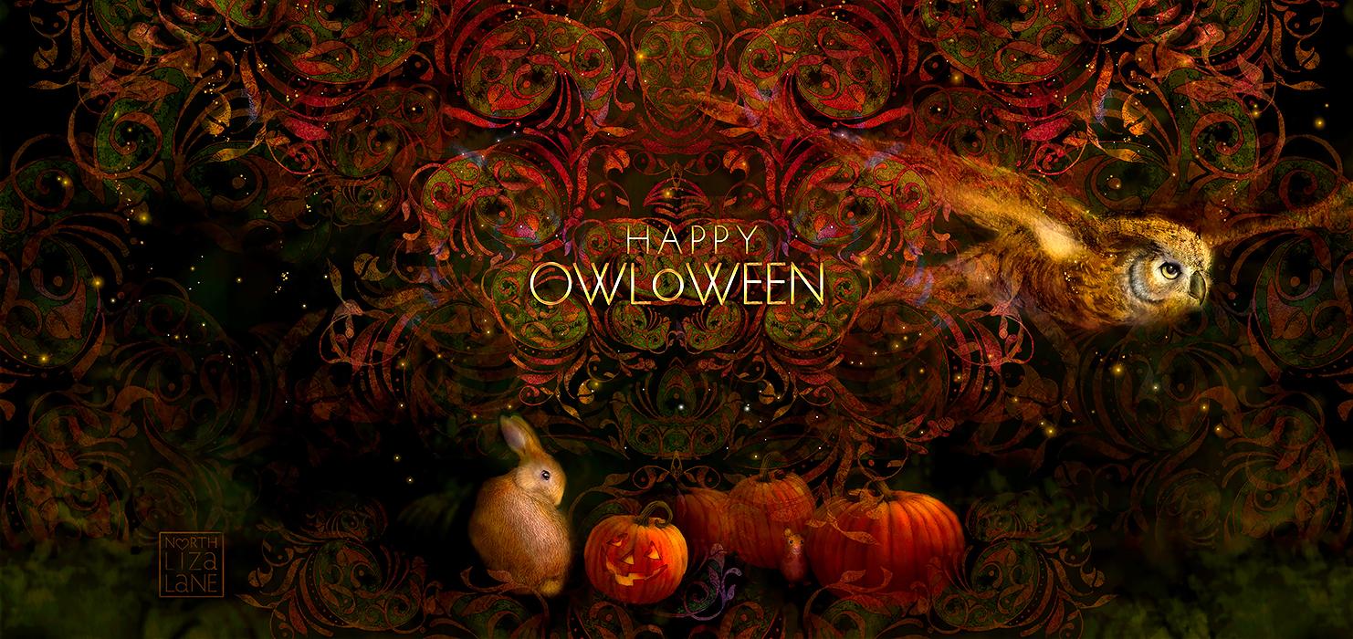 North Liza Lane Happy OwlOween