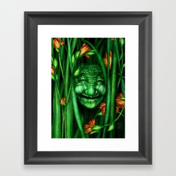 Lilly - Nature Spirit - Framed Print