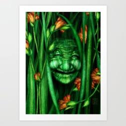 Lilly - Nature Spirit - Print