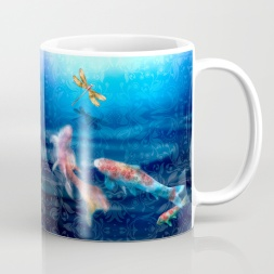 The Koi Damsel Coffee Mug