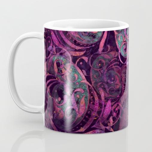 Humming Bird Coffee Mug Side One