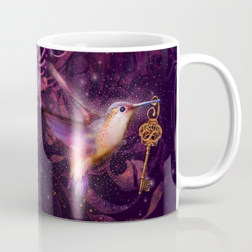 Humming Bird Coffee Mug Side Two