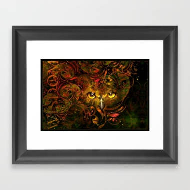 Owl See You Framed Print
