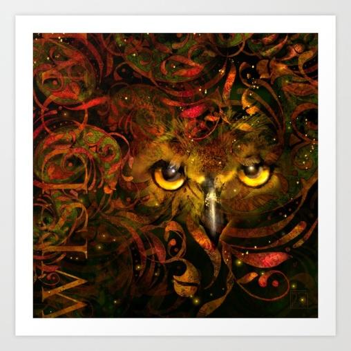 Owl See You Print